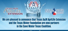 Coalition Welcomes new partners to help inform Texans about Water Efficiency