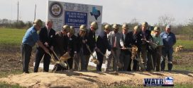 Groundbreaking of the Luce Bayou Interbasin Transfer Project