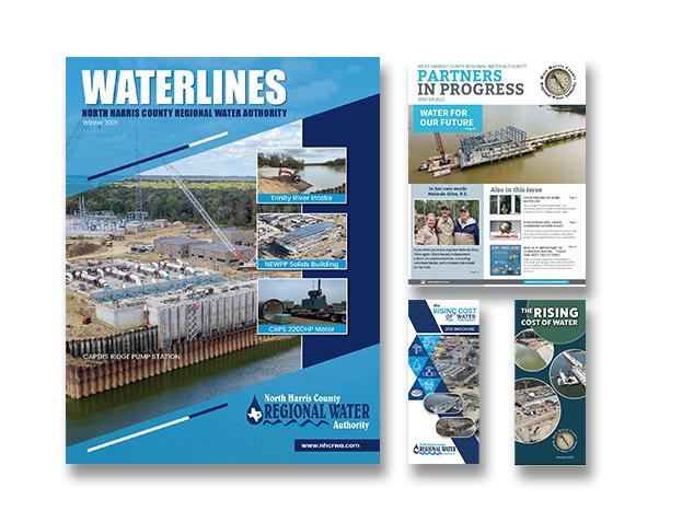Newsletter or Brochure production design